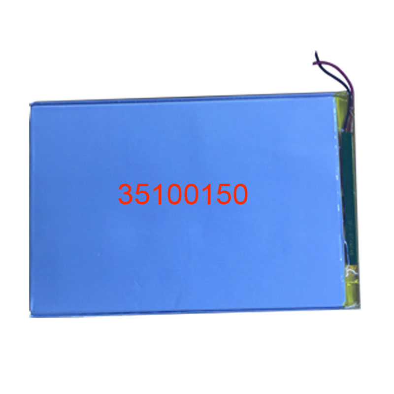 35100150 Tablet battery capacity <font><b>3.7V</b></font> <font><b>6000mAh</b></font> Universal Li-ion battery for tablet pc 8 inch 9inch 10inch image