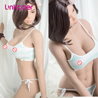Linkooer Original 165cm Sex Dolls Silicone Realistic Japanes Doll Gentle Girl Sexy Lips 3 Holes Adult Love Doll Sex Toy for Men