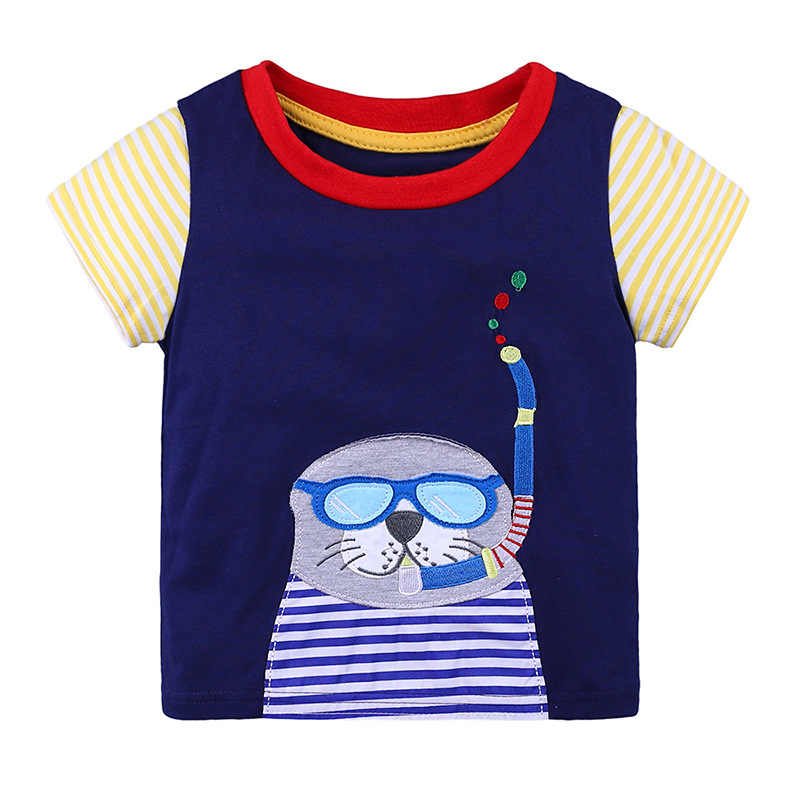 少年 tシャツ男児 Tシャツ半袖ベビーボーイの Tシャツキッズトップ綿 100% tシャツジャージソフトブラウス 1 2 3 4 5 6 T