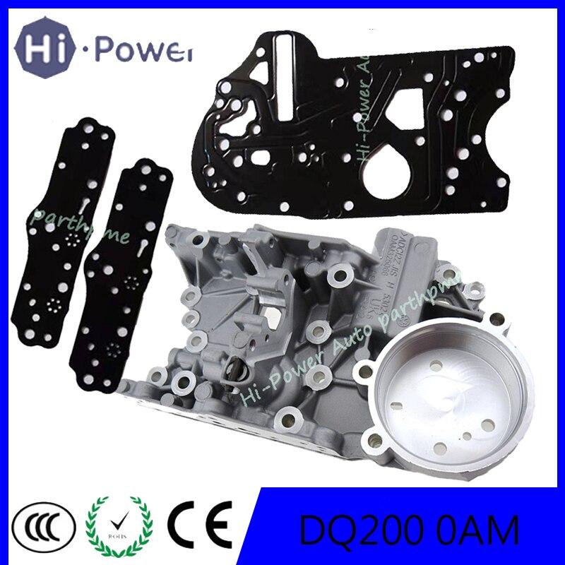 UP 4.6MM DQ200 0AM OAM Auto Transmission Accumulator Housing 0AM325066AC For Audi VW SKODA DSG 7-Speed 0AM325066C 0AM325066AE