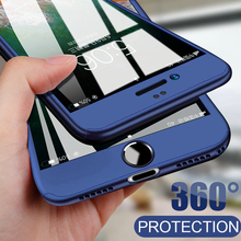 Luxury 360 Full Body Protective Hard PC Case for iP