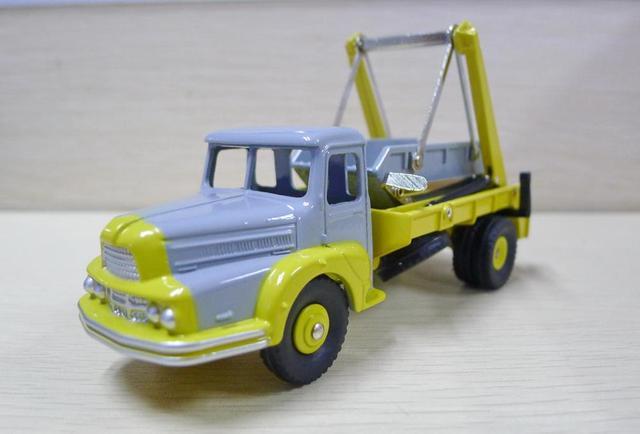 Atlas Dinky Truck, jouets unifiés, 38A, Multibenne, moulé, 1:43
