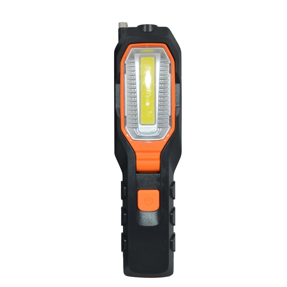 Dropshipping 4000Lm COB LED Worklight Battery Power Working Flexible Magnetic Inspection Lamp Flashlight Emergency Light
