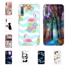 For Samsung Galaxy A3 A7 2018 Case TPU For Samsung Galaxy J1 2016 Cover Cat Patterned For Samsung Galaxy J2 Core J2 Prime Shell все цены