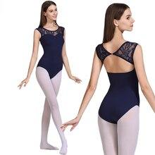 Ballet Maillots Volwassen 2020 Nieuwe Aankomst Kant Mouw Praktijk Ballet Dansen Kostuum Vrouwen Gymnastiek Turnpakje Dans Overall
