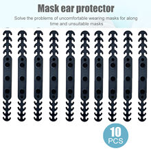 10pc lavável reutilizável boca máscara extensores anti-aperto protetor de orelha acessórios cinta de orelha boca tampões lavável mascarillas
