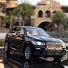 1:32 BMW X5 Simulation Alloy Toy Cars Diecast Pull Back SUV Car Model Children Toys Off-road Vehicles Decorations Christmas Gift
