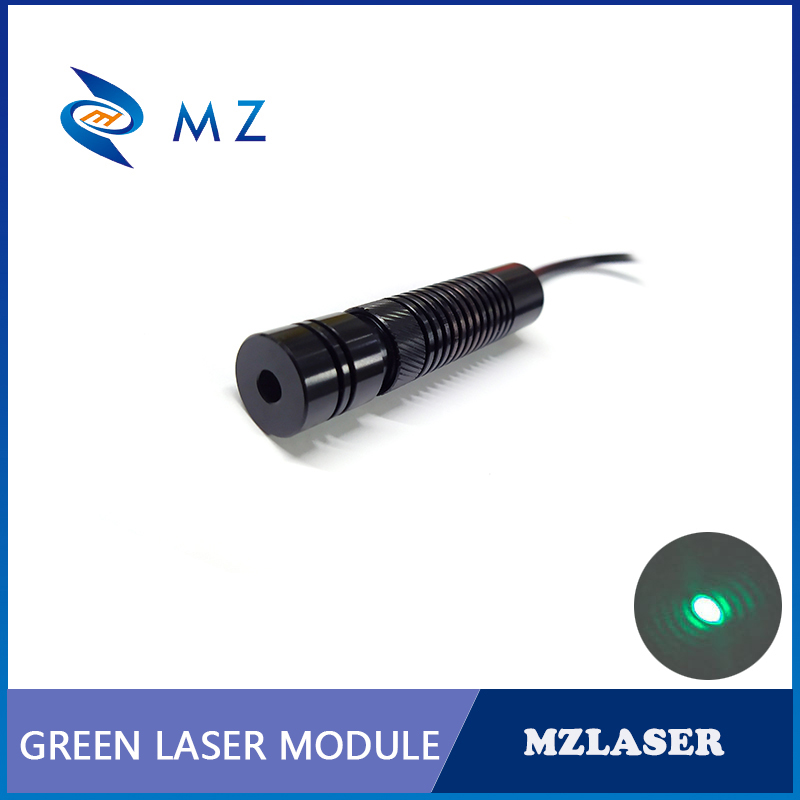 High Quality High Power Adjustable 520nm 50mw Green Dot Laser Module