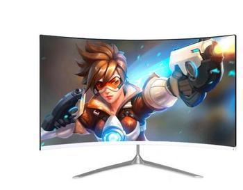 Monitor de Juegos de Pc con pantalla curva LED sin marco, 27, 32 pulgadas, 1920x1080, 144hz, 250cd/m2