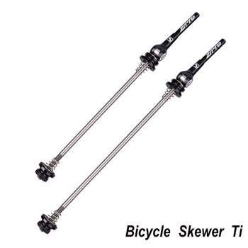 Ultralight tytanu Ti osi sztyfty QR MTB szosowe rower Quick Release 9mm 5mm z przodu 100 z tyłu 130 135mm piasty koła szaszłyki tanie i dobre opinie INBIKE Rowery górskie Aluminium stop QR 100 135MM Ti + AL
