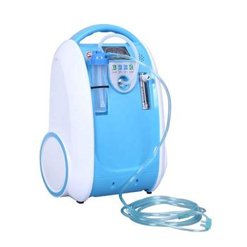 5L Medical Portable Oxygen Concentrator Generator Home Oxygen Generator 24 hours continuous oxygen flow respirators
