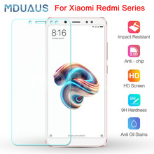 Protective Glass on For Xiaomi Redmi 5 Plus 5A 4 4X 4A Go S2 K20 Tempered Screen Protector Glass Redmi Note 4 4X 5 5A Pro Film