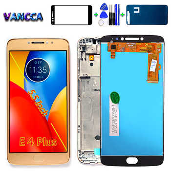 For Motorola LCD Display For Motorola Moto E4 Plus Touch Screen Digitizer Sensor Glass Assembly E4 plus 5.5 inch Frame with - DISCOUNT ITEM  7 OFF Cellphones & Telecommunications