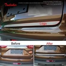 Tonlinker внешняя дверь багажника край крышка чехол наклейка для GEELY Atlas-19 Автомобиль Стайлинг 1 шт. крышка из нержавеющей стали стикер