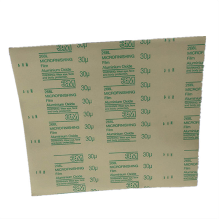 268L Plastic Sandpaper 300 X 350mm Film Sandpaper 9MIC-100MIC Hand Polishing Sandpaper