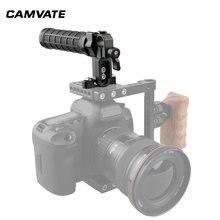 Камеры camvate Верхняя ручка резиновая рукоятка с 15 мм стержневым