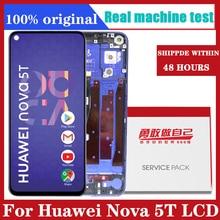 6.26 display display display substituição para huawei nova 5t lcd tela de toque digitador assembléia para huawei nova 5t YAL L21 l61a l61d l71a lcd