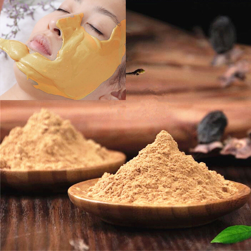 20g/Pack 24K GOLD DIY SPA Quality Face Mask Powder Collagen Hyaluronic Acid Soft Mask Powder Face Mask Anti Aging Wrinkle