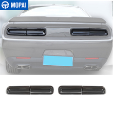 MOPAI Car Stickers for Challenger 2015+ Car Rear Tail Light Lamp Decoration Cover for Dodg Challenger 2015+ Exterior Accessories