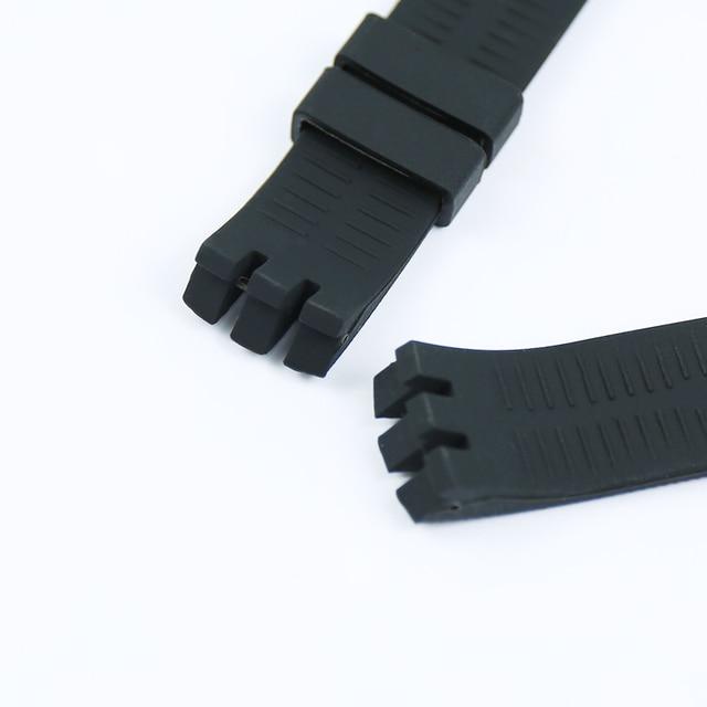Montre accessoires 20mm hommes bracelet en caoutchouc pour Swatch YTS401 402 409 713 YTB400 boucle ardillon femmes Silicone sport bracelet