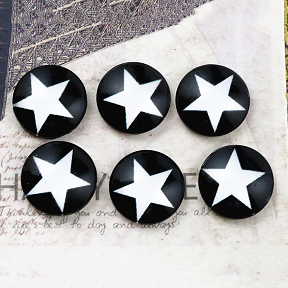 New Fashion  20pcs 12mm Handmade Photo Glass Cabochons   E2-69