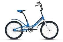 Городской велосипед Forward - Scorpions 20 1.0 (2020) Цвет: Синий / Белый
