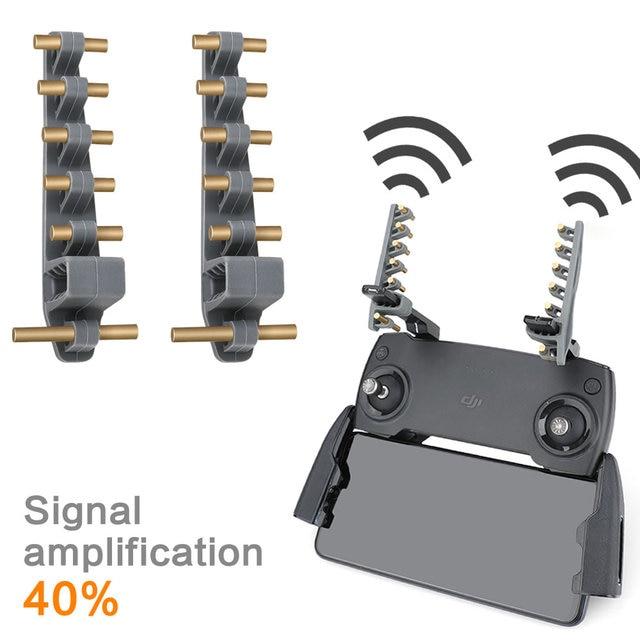 Antena YAGI wzmacniacz dla Mavic Mini/Mavic 2pro/pilot zdalnego sterowania antena wzmacniająca sygnał przedłużacz zasięgu FIMI X8 akcesoria