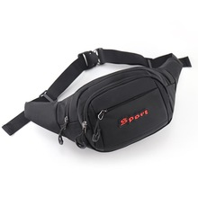 2020 NEW Man Waist Bag Fashion Chest Pack Outdoor Sports Crossbody Casual Travel  Waterproof Bum Belt