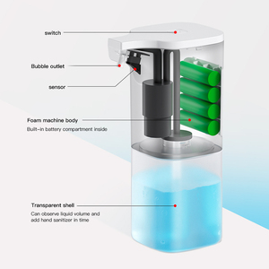 Image 5 - Automatic Induction Liquid Soap Dispenser Hand washer Dispenser Hand Free Forming Soap for Kitchen Bathroom Hand Clean Tools 350