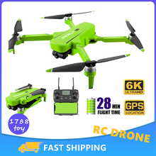 JJRC X17 RC Drone 6K GPS professionale RC Quadcopter con videocamera Dron FPV droni motore Brushless 28 minuti DRON VS sg906 pro2 4k