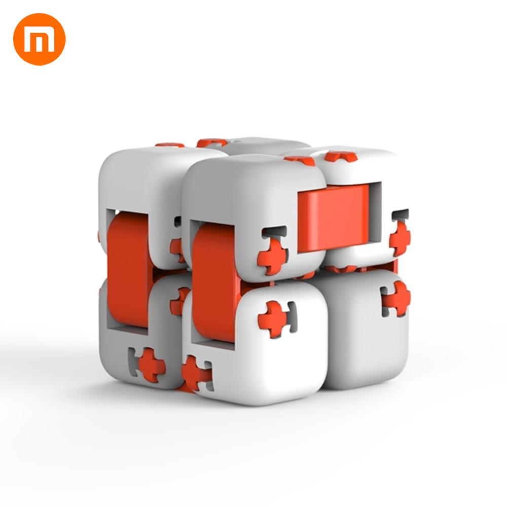 Xiaomi Mitu Cube Spinner Smart Fidget Magic Cube Infinity Toys Anti Stress Anxiety Juguete For Xiaomi Mijia Home Kits(China)