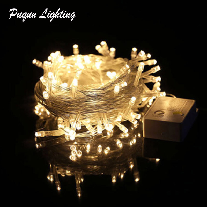 3M 10M 20M 30M 50M 100M LED String Fairy Lights Christmas Led String Lights Garland Decor For Home Wedding Party Xmas Holidays