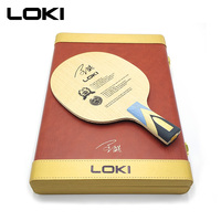 LOKI Honor ALC Carbon Table Tennis Blade 7 Ply Professional Ping Pong Paddle Luxury Table Tennis Racket for Fast Attack and Arc