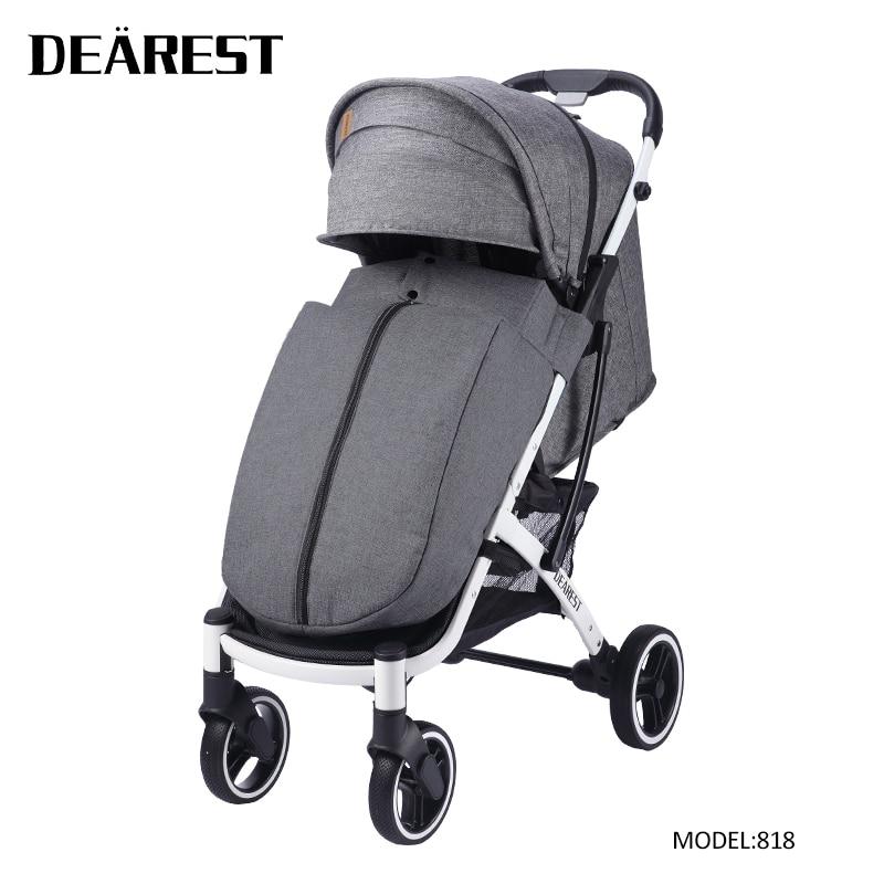 DEAREST 2020 New Baby Stroller Folding Portable Trolley Big Wheel Umberlla Mini Lightweight Stollers Wholesale Free Shipping