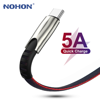 3M USB C Data Cable for Xiaomi Mi 8 9 9T Redmi K20 Note 7 5A Fast USB Type C Cable for Samsung S8 S9 S10 Huawei P30 Super Charge