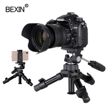 Professionalการถ่ายภาพแบบพกพาขนาดกะทัดรัดน้ำหนักเบาMiniขาตั้งกล้องขาตั้งกล้องสำหรับDSLR Slrกล้องโทรศัพท์