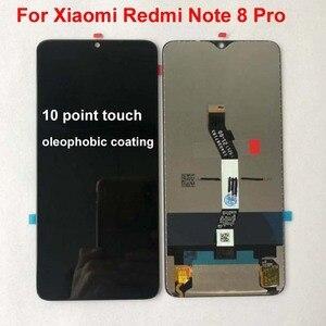 Image 3 - 100% 새로운 6.53 샤오미 Redmi Note 8 Pro LCD 디스플레이 터치 스크린 교체 Redmi Note8 LCD 디지타이저 + 도구