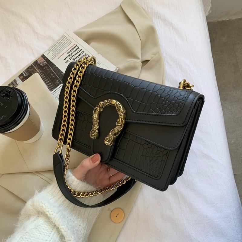 High Quality Shoulder Bags For Women 2021Messenger Bag Lady Flap Handbag Bag Fashion Design Women's Purse Women Shopper Bag