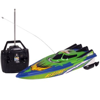 RC Racing Boat New Radio Remote Control Dual Motor Speed Boat High-speed Strong Power System Fluid Type Design Outdoor RC Boat