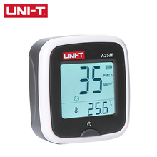 Meters Air-Quality A25F/A25M Temperature-Measurement PM2.5 LCD Red-Backlight-Alarm c/f