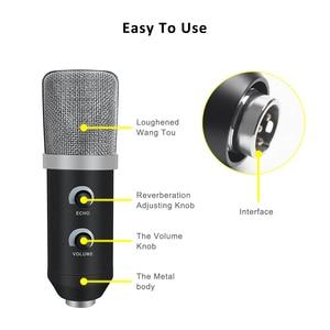 Image 3 - MK F100TL Usb コンデンサーマイクキットポッドキャスト用スタンドと録音用マイクスタジオの Pc マイクカラオケラップトップ Skype