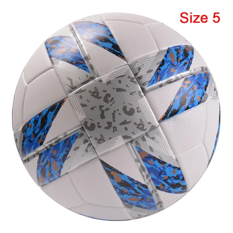 Professional Size5/4 Soccer Ball Premier High Quality Goal Team Match Ball Football Training Seamless League futbol voetbal 21