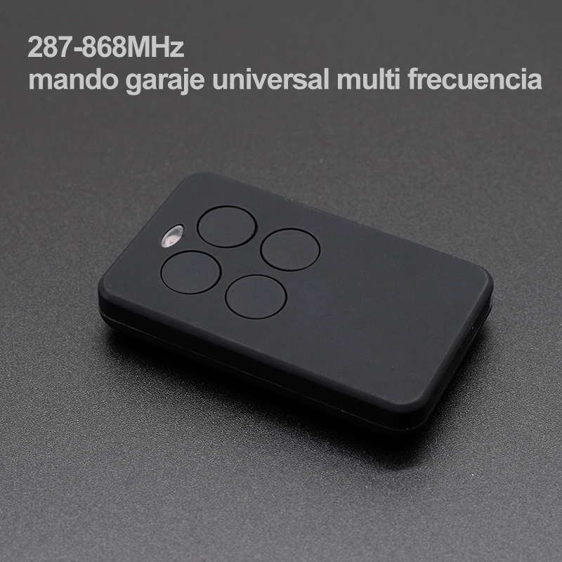 Garage Door Remote Control 287-868MHz MultiFrequency Wireless Automatic 4 Buttons Multi-functional Multi-brand Transmitter