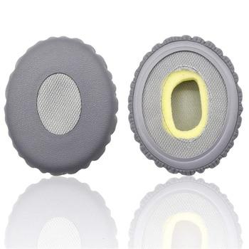 Almohadillas de repuesto de alta calidad para auriculares Bose OE2 OE2i almohadillas de cuero suave orejera de espuma de memoria para mayor comodidad Ew #