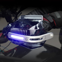Motorbike Protective Gear Motocross Motorcycle Dirt Bike Handguard Shield Windproof Protector Universal Hand guard With Light
