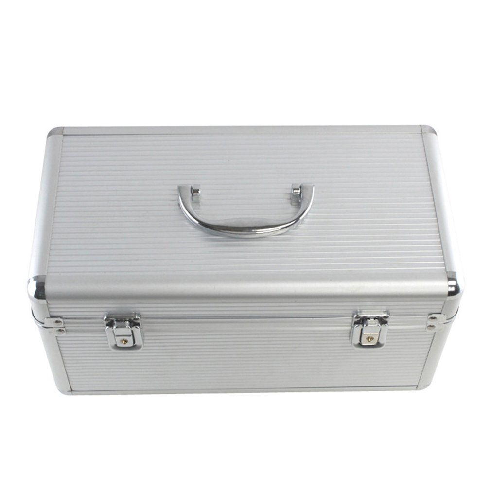 Aluminum Alloy Hard Disk Protection Box Dual-purpose Hard Disk Storage Box Hard Disk Box Security Lock