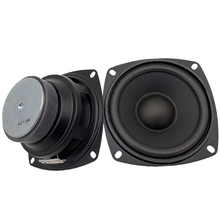 4Inch Full Frequency HIFI Audio Loudspeaker 4Ohm15W Mid-High Bass Subwoofer Speaker For Home Theater DIY Woofer Speakers