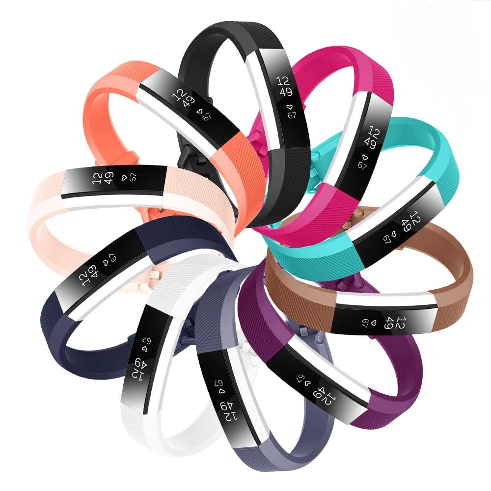 Correa de silicona baaleetc para Fitbit Alta HR/Alta, correa de silicona de repuesto, correa de silicona, cierre, pulsera inteligente, reloj para Fitbit