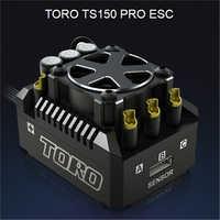 Nueva actualización SKYRC TS150 Pro aluminio TORO TS150 Pro sin escobillas Sensored ESC para 1/8 RC coche Buggy Truggy Monster camión