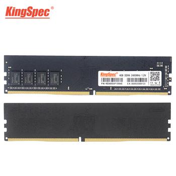 Wysokiej jakości KingSpec DDR4 pamięci ram ddr4 4GB 8GB 16GB pamięć Ram 2666MHz na PC pulpit pamięci ram ddr4 ram tanie i dobre opinie 2666 MHz CN (pochodzenie) DDR4 PC 15-17-17-35 288pin 1 2VV 2666MHZMHz